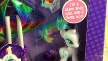 Et poubelle par par poupée Équestrie flutter filles tarte auriculaire arc en ciel examen des roches jouet Mlp bins