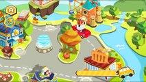 Contra aplicación rápido comida juego Niños Panda panda del bebé contra la comida rápida