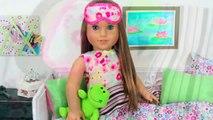 Artisanat bricolage poupée facile pour Comment enfants faire faire faire masque en train de dormir à Il jouets Barbie