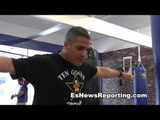 trainer talks about being in army at 14 years old - EsNews Boxing