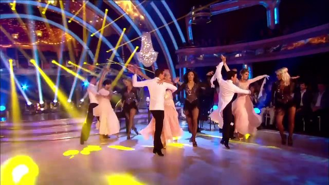 Professional Dancers - Strictly Come Dancing 2012 - Week 2