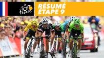 Résumé - Étape 9 - Tour de France 2017