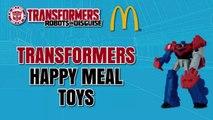 Déguisement content dans enfants repas de de examen Ensemble jouets transformateurs vidéo 2016 robots 8 mcdonalds