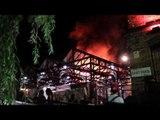 Huge Blaze Engulfs Camden Market