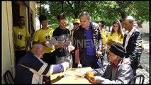 """Ora News - Fushata """"100 km ecje"""" - Blushi në Korçë: Libra, forca që mbron vendin nga krimi"""