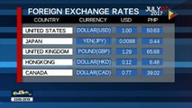 FYI: Monday's foreign exchange rate