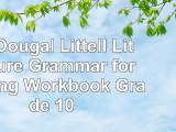 Read  McDougal Littell Literature Grammar for Writing Workbook Grade 10 585ce2a6