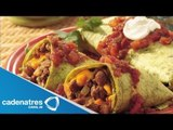 Burrito Tex-Mex / Receta para preparar Burrito Tex-Mex