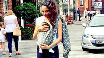 Lisa Haydon Takes A Walk With Son Zack Lalvani