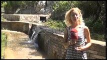 Ora News - Pika turistike e Byshekut e ndotur nga qeset plastike