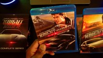 80s Knight Rider Blu Ray Unboxing