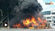 One killed in tanker explosion in Bintulu