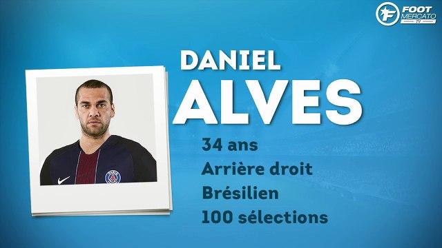 Officiel : Daniel Alves s'engage avec le PSG !