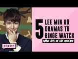 5 Lee Min Ho Dramas to Binge Watch While He's Away in the Military | The Kossip List