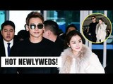Rain & Kim Tae Hee Are GOALS on The Way To Bali Honeymoon! | HOT TOPIC!