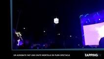 Un acrobate fait une chute mortelle à Madrid, le spectacle continue