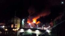 Londres : le célèbre marché de Camden ravagé par un incendie