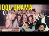 """The Girls Next Door have """"DEEP BLUE EYES"""" (Live stage reaction) [Idol Drama Operation team]"""