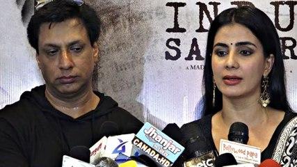 Interview with Madhur Bhandarkar and Kirti Kulhari For Film Indu Sarkar