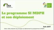 Le programme SI MDPH et son déploiement - Sous titre SP