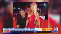 Blac Chyna Files for Restraining Order Amid Revenge Porn Allegations