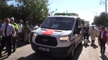 Hatay'da Şehit Olan Polis Memuru Hayrettin Mennan, Son Yolculuğuna Uğurlandı