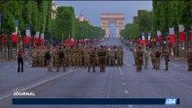 Défilé du 14-Juillet: les militaires français et américains répètent pour le jour J