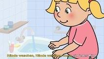 Se laver les mains se déplacent des chansons pour chanter ||