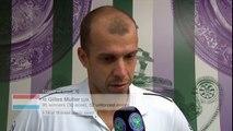 Gilles Muller UPSETS Rafael Nadal - Wimbledon 2017 Interview