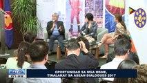 Oportunidad sa mga MSME, tinalakay sa #ASEAN Dialogues 2017