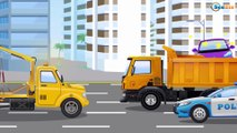 Carl The Super Truck Is The Spring Truck In Car City Trucks Cartoon