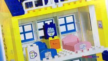 Blocs bâtiment hôpital Méga porc avec Peppa blocs de jeu dambulance playset construc