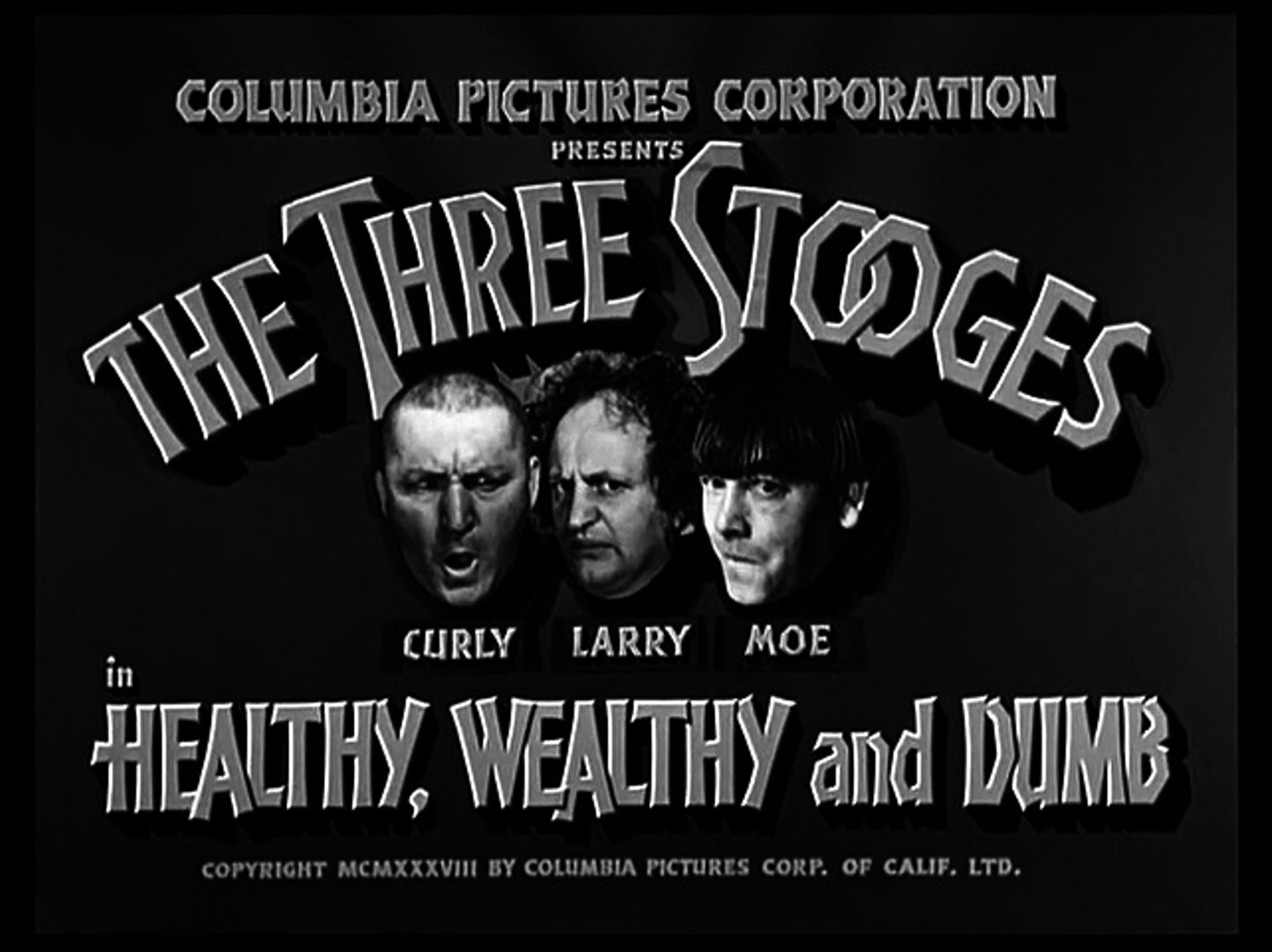 Image result for The Three Stooges: Healthy, Wealthy And Dumb