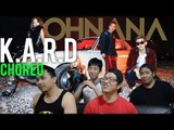 K.A.R.D | OH NA NA Choreography ver. Reaction