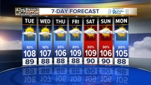 Hot temps are here to stay after wind, dust and rain hit the Valley
