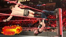 Dean Ambrose vs The Miz (with Maryse, Curtis Axel, and Bo Dallas) - WWE Great Balls of Fire 2017 - WWE Intercontinental Championship - WWE