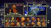 WCW/NWO Thunder Intro & Wrestler Pick me Rants (PS1)