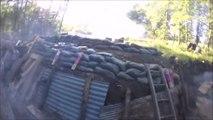 Guerre des tranchées avec des feux d'artifices et pistolets à billes ! GENIAL !