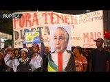 Fiery Protest: 1,000s of Brazilians demand Temer's resignation