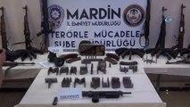Kızıltepe'de Çok Sayıda Silah ve Mühimmat Ele Geçirildi