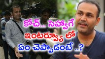 Virender Sehwag leapfrogs Ravi Shastri   oneindia Telugu