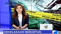 5 Kendaraan Terlibat Tabrakan Beruntun di Tol Jakarta-Cikampek