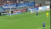 Djurgardens 2:1 Sundsvall (Swedish Allsvenskan 10 Junly 2017)