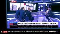 Pascal Praud : embarrassé par l'évocation de son salaire, il lance la pub (vidéo)