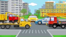 Cop Cars Cartoon - The Police Car New Cars for kids + 1 Hour Compilation incl Emergency Vehicles