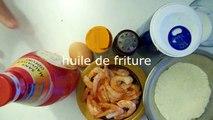 Cuisine avec beignets de crevettes recette facile et rapide morgane