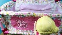 Vivant et bébé lit pause lit de bébé poupée poupées drôle meubles obtient Nouveau jouer Lucy pack n