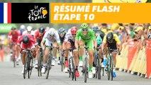 La course en 30 secondes - Étape 10 - Tour de France 2017