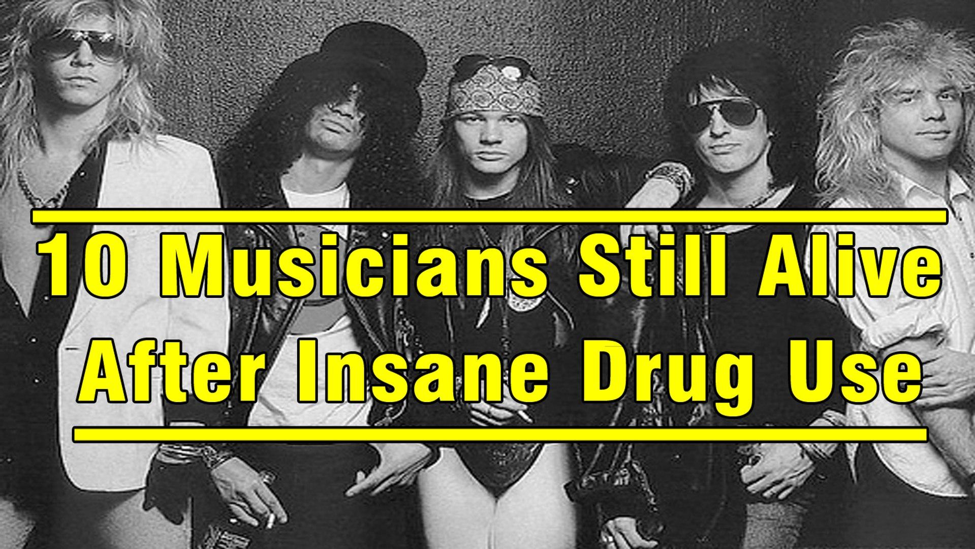 10 Musicians Still Alive After Insane Drug Use