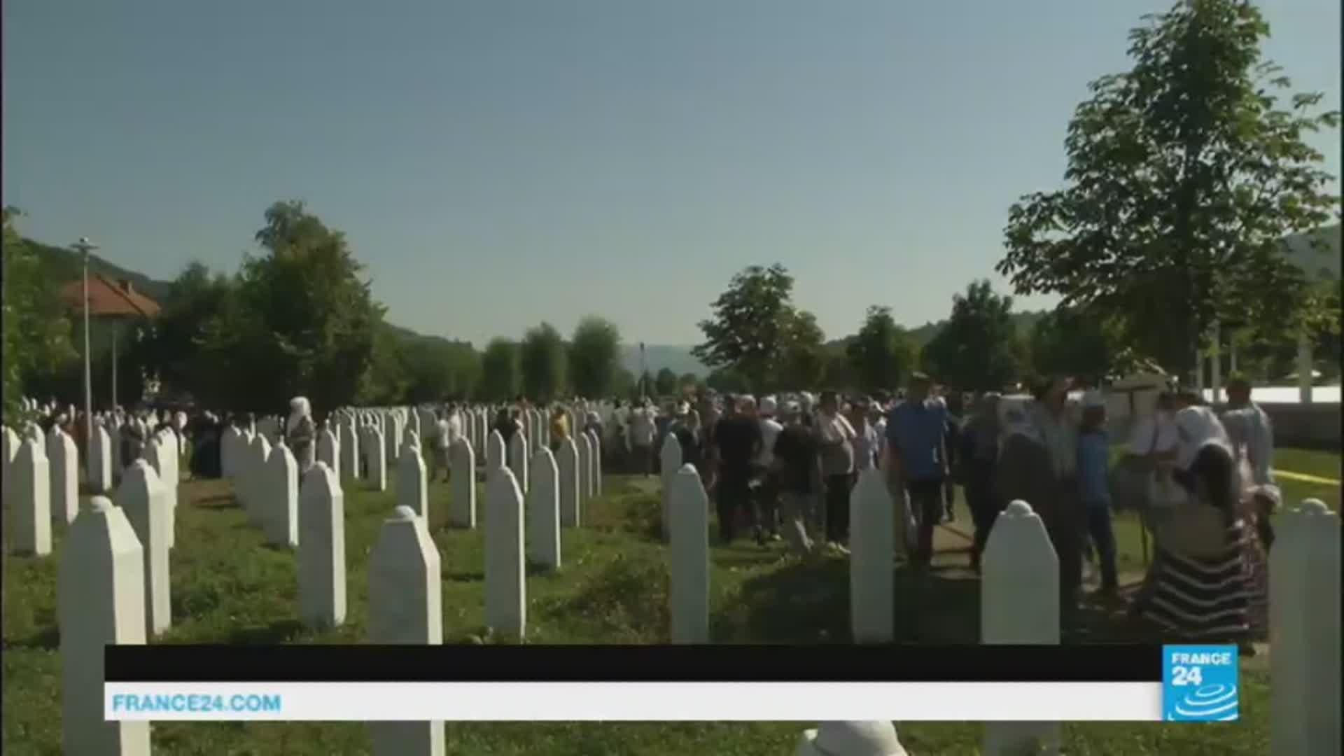 71 reburied on 22 anniversary of Bosnian massacre